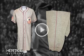 1934 Lou Gehrig Tour of Japan Game Worn Uniform