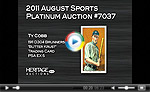 1911 D304 Brunners Butter Krust Ty Cobb PSA EX 5 - A Newly Discovered Example!